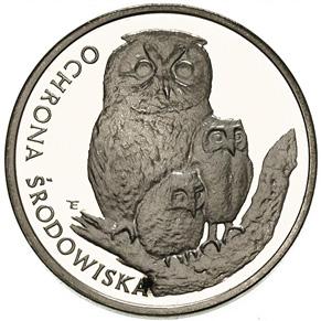 500 злотых 1986 - Сова / 500 zlotych 1986 Sowa