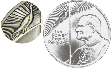 10 злотых 1999 - Ян Павел II / 10 zlotych 1999 - Jan Pawel II