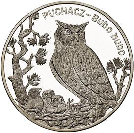 20 злотых 2005 - Филин / 20 zlotych 2005 - Puchacz><p align=